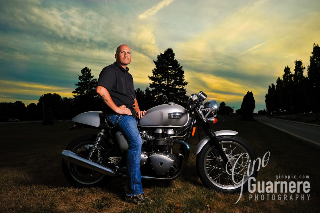 Triump Motorcycle photo